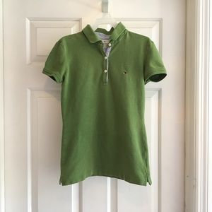 Tommy Hilfiger Lime Green Polo Size XS